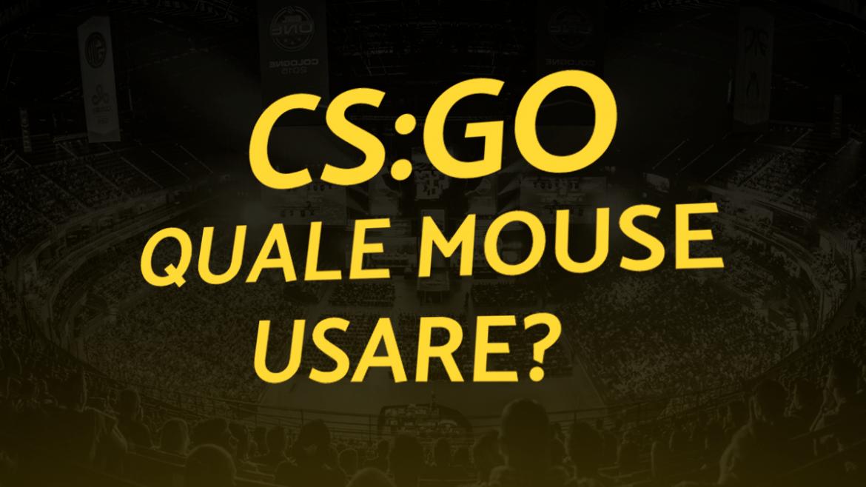 mouse per csgo